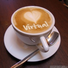 virtuele koffie