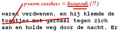correctie door persklaarmaker