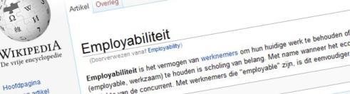 Employabiliteit (wiki)